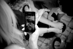 """Foto aus dem Projekt """"Gewaltbilder"""""""