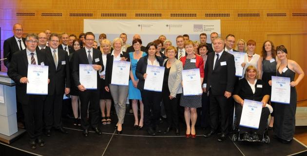 Foto aller Preisträgerinnen und Preisträger