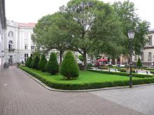 Wilhelmsplatz bei Tag